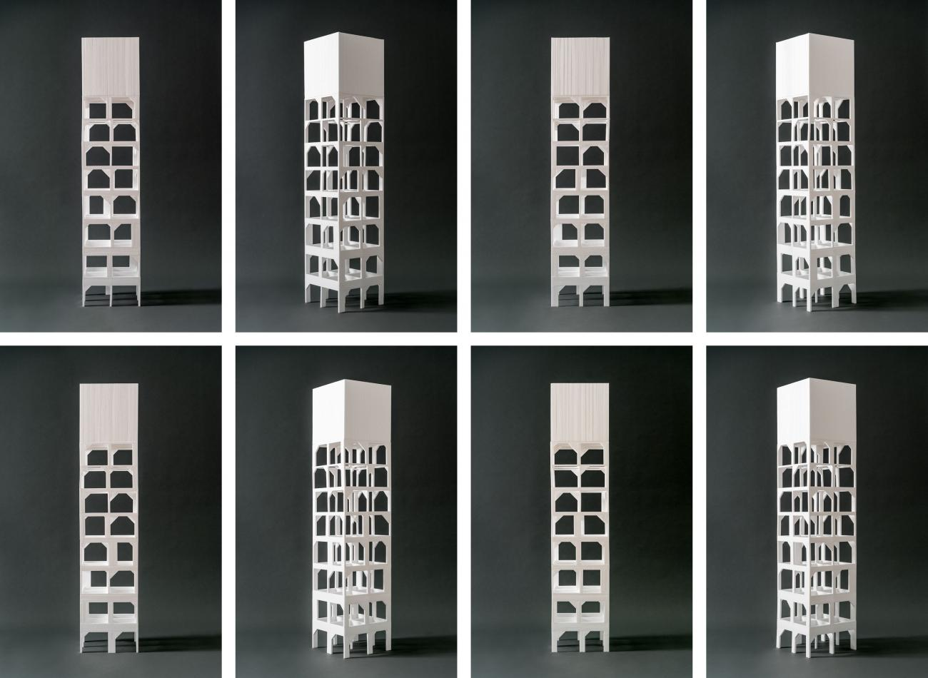water towers grids
