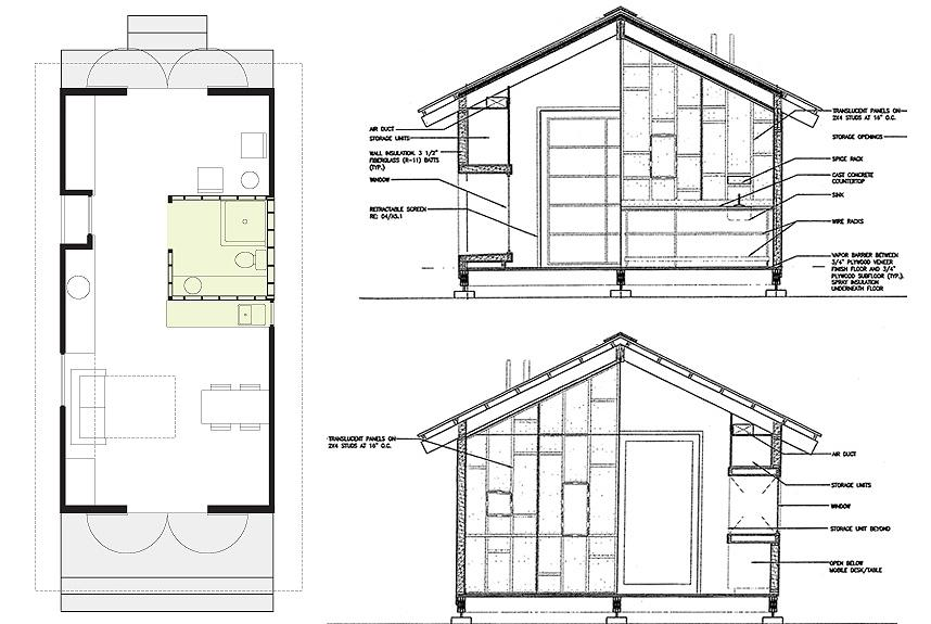 XS House drawing